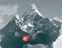 Swiss Air – Magazine Ads
