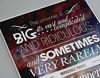 Poster # Doctor Who Quote