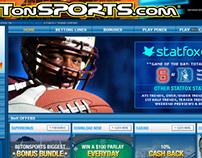 Statfox Corner for BetOnSports.com