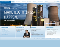 RWE Annual Report 2009 Website