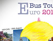 Euro Bus Tour 2013