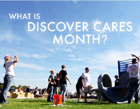 Discover Cares Month 2013