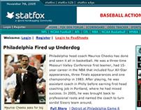 Statfox.com Website