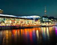 Singapore's Clarke Quay
