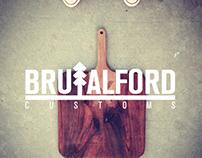 Brutalford Custom: Logo Concepts