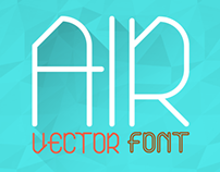 Air Font (Normal, Bold, Outline)