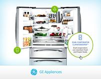 GE Appliences Website Redesign