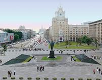 ТРИУМФАЛЬНАЯ ПЛОЩАДЬ / TRIUMFALNAYA SQUARE REGENERATION