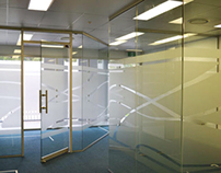 Custom Frosted Window Film