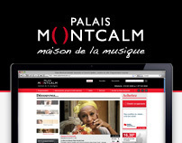 Palais Montcalm - webdesign