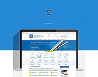Brand service website presentation