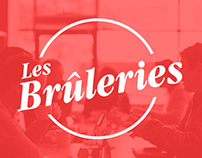 Les Brûleries - web design