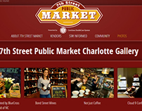 Website for Charlotte 7th Street Public Market