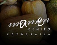 MAMEN BENITO fotografía (logo)