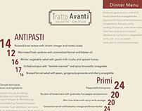 Tratto Avanti Menu and Ad