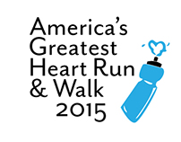 America's Greatest Heart Run and Walk Logo