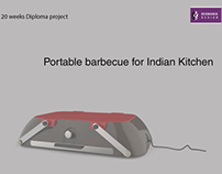 Portable Barbecue for Indian Kitchen