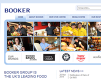 Booker Group Investor Relations website