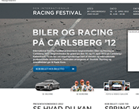 DEN Internationale Racing Festival Landing page