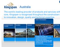 Kingspan landing Page