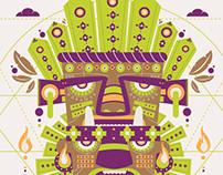 Ilustración Tat Cuxta (azteca)