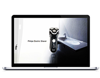 Philips Shaver | Web Design