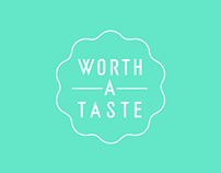 Worth a Taste Identity Design