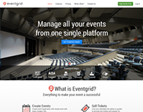 New website design for Eventgrid.com
