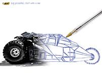 Bic Ballpoint Pen Print Ad Campaign