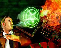 Hellblazer vs Ghostrider