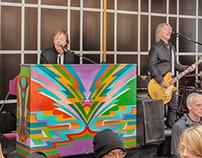 Paul McCartney Impromptu Show Times Square, NYC