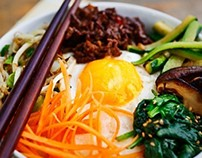 Bibimbap, Korean rice dish