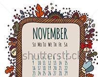 Illustrated Calendar