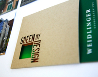 GREEN by DESIGN Marketing Material