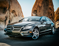 American Southwest with a 2014 CLS 550 4Matic