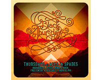 Black Thursdays Aces n Spades Poster