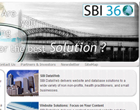 SBI DataWeb small website