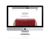 Jambox website