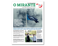 "Redesign do semanário ""O Mirante"""