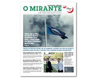 """Redesign do semanário """"O Mirante"""""""