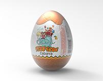 Tiru Liru Chocolate Egg