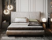 Спальня в ЖК Донской Олимп