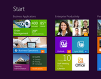 Business Intelligence application for Windows 8