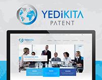 Yedikıta Patent | Web UI/UX Design