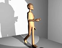 3D Walking Exercise
