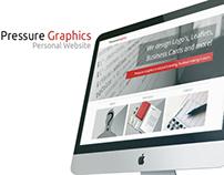 Pressure Graphics Personal Website