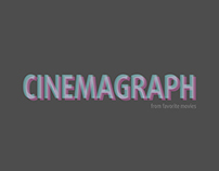 Cinemagraphs from Movies