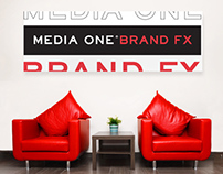 Media One Brand FX - Logo, Branding and Graphic design