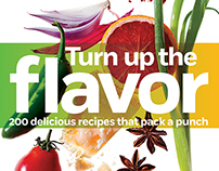 "the ""Turn Up the Flavor"" cookbook"