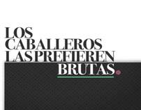 LOS CABALLEROS LAS PREFIEREN BRUTAS